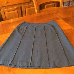 Chadwick's fully lined skirt